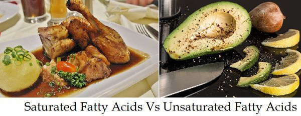 Saturated Vs Unsaturated Fatty acids